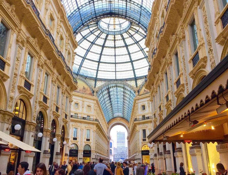 Galleria Vittorio Emanuel II Milan